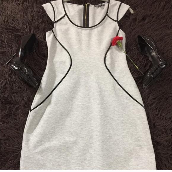 Express Dresses & Skirts - NWOT Express Sweatshirt Mini Dress
